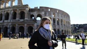Коронавирус в Риме, Италия